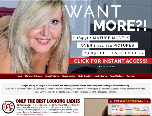 Allover30.com Free Username