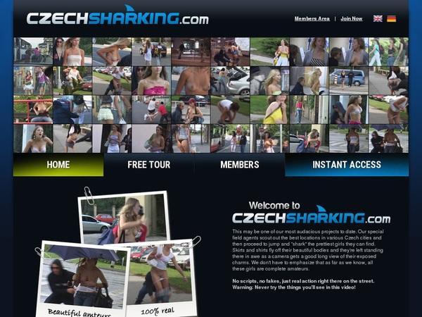 Czechsharking.com Password Hack