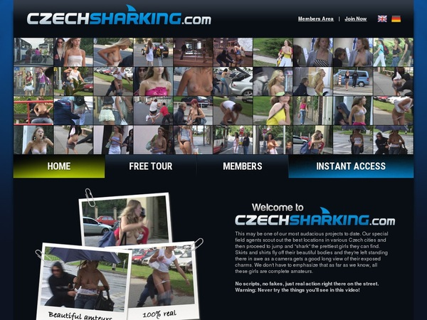 Czechsharking.com Paysites Reviews