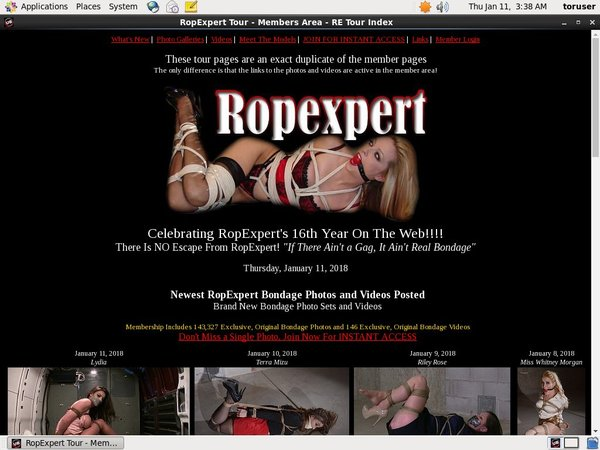 Free Working Ropexpert Accounts