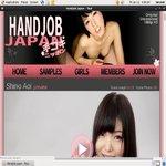 Handjob Japan Ad