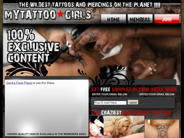 My Tattoo Girls Join Discount