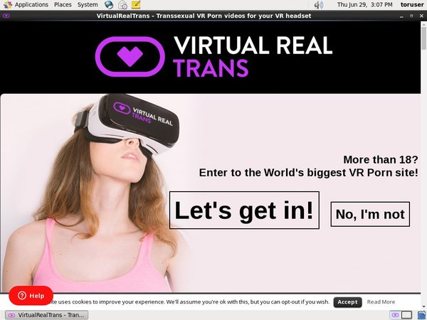 Virtual Real Trans Discount Prices
