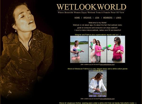 WetLook World Join Via Paypal