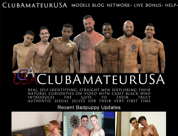 Club Amateur USA Pay With
