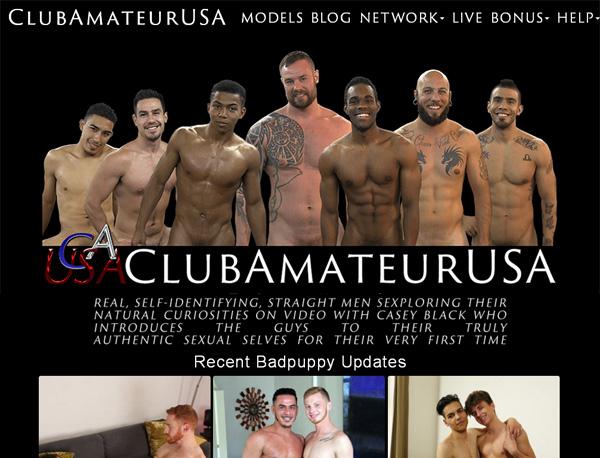 Club Amateur USA Member Account