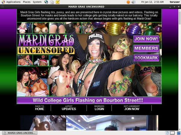 Mardi Gras Uncensored Premium Account Free