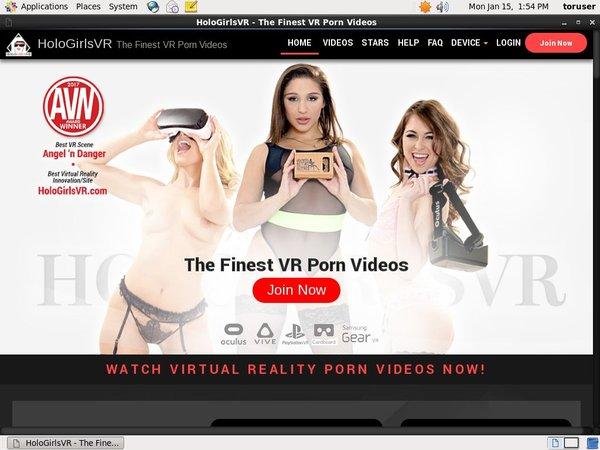Holo Girls VR Login Codes