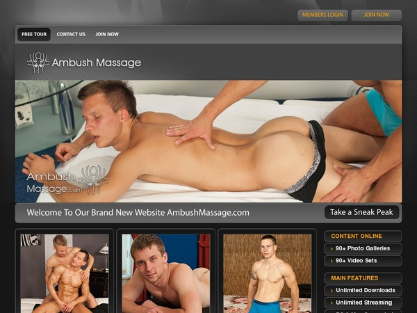 Free Ambush Massage Premium Accounts