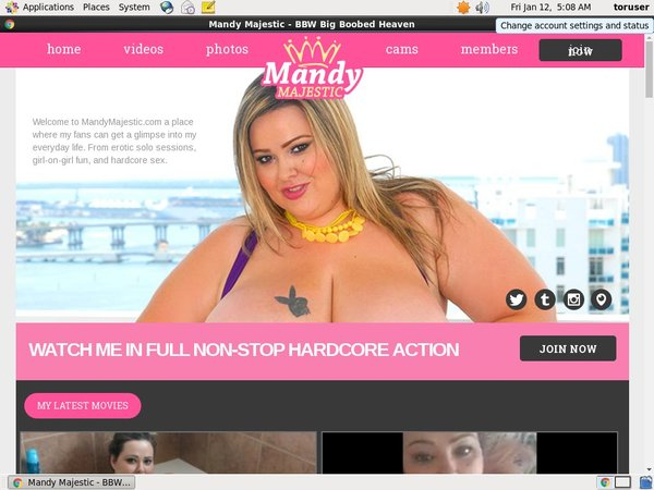 Mandymajestic.com Join By Phone