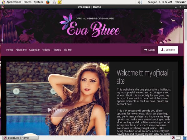 Account Free Eva Bluee