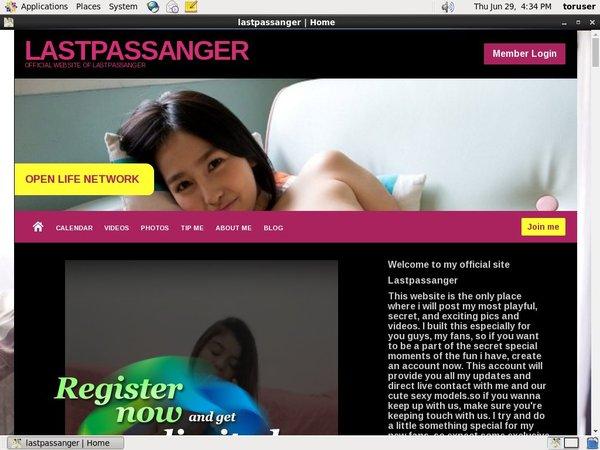 Lastpassanger Member