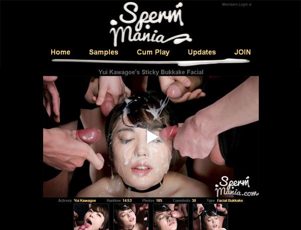 Spermmania.com Account For Free