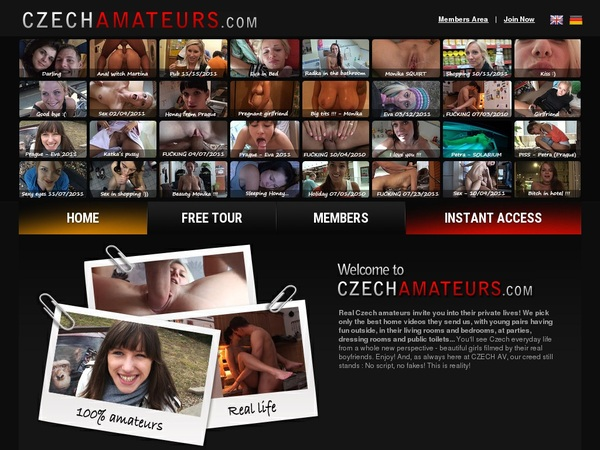 Czechamateurs.com Free Login