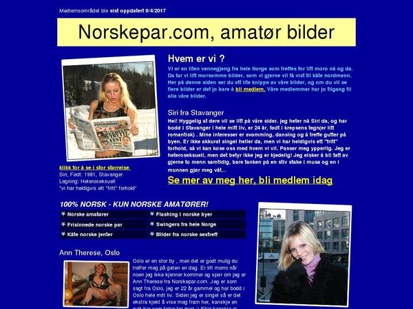 Free Norskepar.com Membership