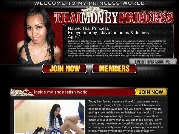 Paypal With Thai Money Princess