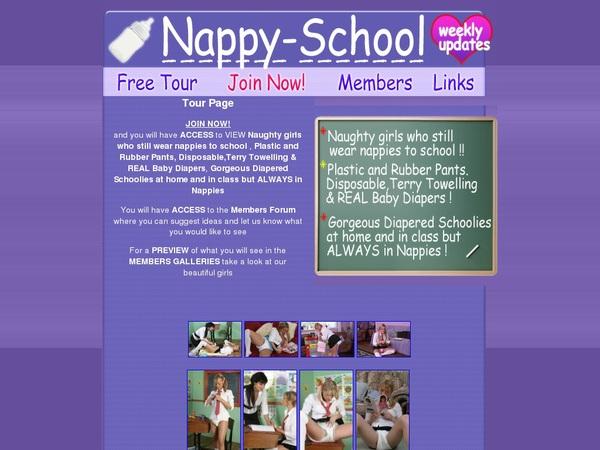 Nappy School Discount Special