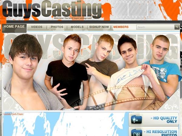 Guyscasting.com Premium Accounts