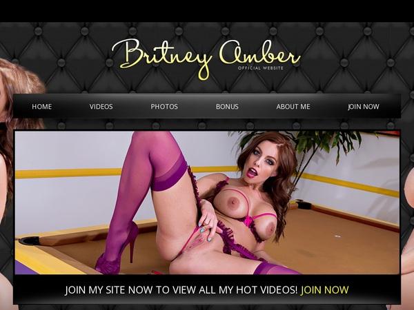 Britney Amber Mobile Passwords
