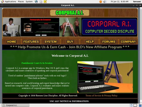 Corporal A.I. Bug Me Not