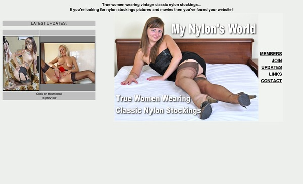 Limited My Nylons World Discount