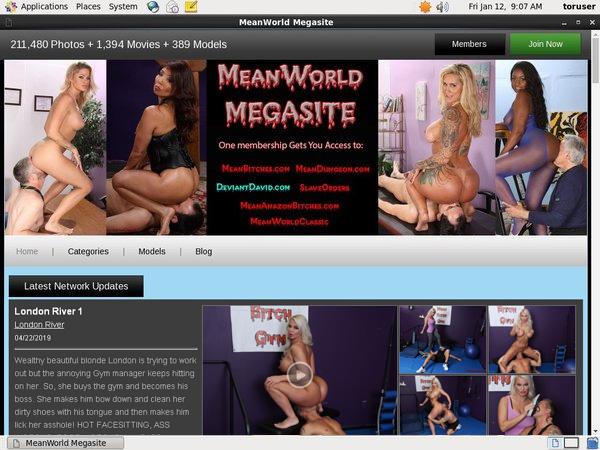 Mean World Membership Account